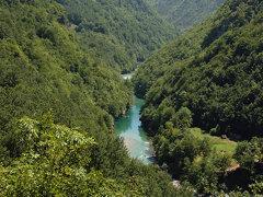 El cañón del rio Tara