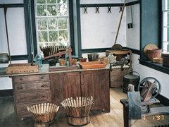Shaker Village of Pleasant Hill - Harrodsburg  Kentucky ~  Basket Making Room