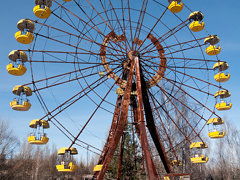 Abandoned Ferris Wheel in Pripyat