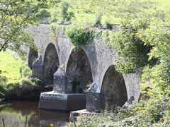 Crossmolina, Co. Mayo; Bridge in Colour