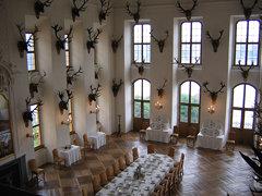 Schloß Moritzburg dining hall