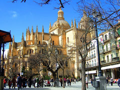 005 Segovia: Cathedral and Plaza Mayor