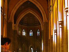 Inside St Patricks Cathedral, Melbourne