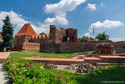 Ruins of the Teutonic castle