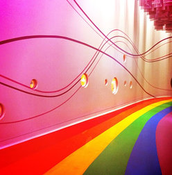 #rainbow #road #shanghai #science #technology #museum #gf_daily #gang_family