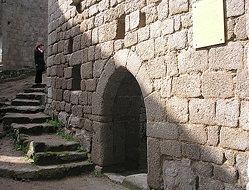 Chateau du Spesbourg ( à l'interieur )