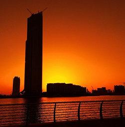 #dubai #mydubai #silhouette #sunset