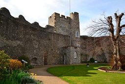 Lewes Castle, Lewes, East Sussex, UK