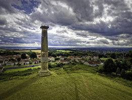 Keppel's Column From The Air.