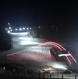 Zielhang Planai #schladming #skiing #aqihotel