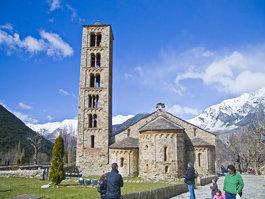 Vall de Boí katalán-román stílusú templomai