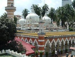 المسجد الجامع كوالالمبور