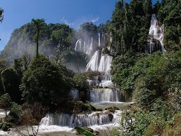 Thi Lo Su Waterfall