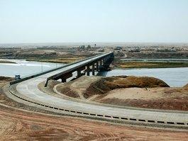 Афгано-таджикский мост в Нижнем Пяндже