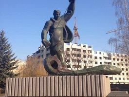 «Алёша» – памятник металлургу