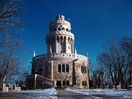 Belvedere Tower in the Buda Hills