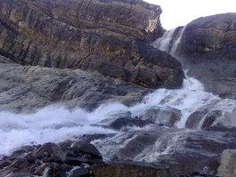 Bow Glacier Falls