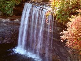 Bridal Veil Falls (Manitoulin Island)