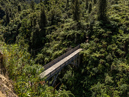 Bridge to Nowhere, New Zealand