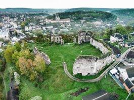 Buchach castle