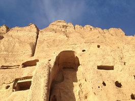 Buddhastatyerna i Bamiyan