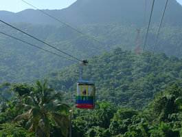 Cable Car, Puerto Plata