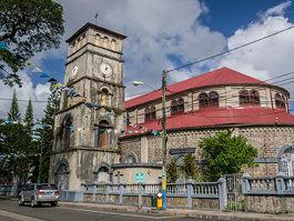 Cathedral Basilica of the Immaculate Conception in Castries