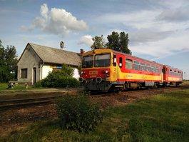 Debrecen amusement park railway