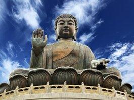 Velký Buddha v Ling Šan