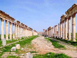 Колоннада в Апамее