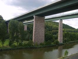Hedemünden Werra valley bridge