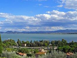 بحيرة تراسيمينو