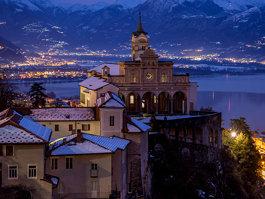 Madonna del Sasso, Switzerland