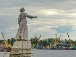 Äiti Volgan muistomerkki