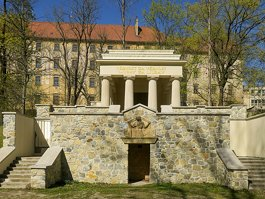 Mausoleum of Yugoslav Soldiers in Olomouc