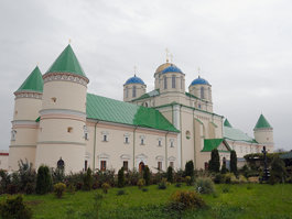 Monaster Trójcy Świętej w Międzyrzeczu Ostrogskim