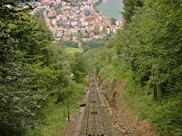 Monte San Salvatore funicular