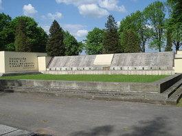 Monument to fallen for Těšín Silesia