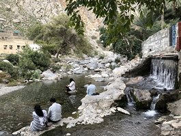 Nakhal Waterfall