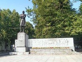 Nikolay Nekrasov monument