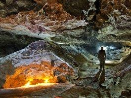 Optymistychna Cave