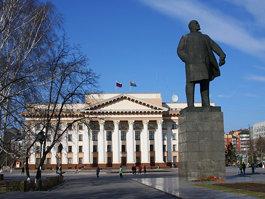 Памятник В. И. Ленину (Тюмень)