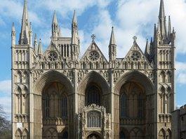 Peterboroughska katedrala