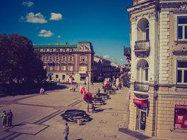 Plac Konstytucji 3 Maja w Radomiu