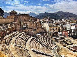 Roman theatre of Cartagena