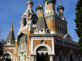Russian Orthodox Cathedral, Nice