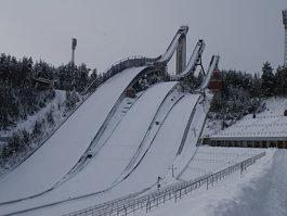 Salpausselkä skiing stadium