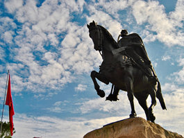 Памятник Скандербегу (Тирана)