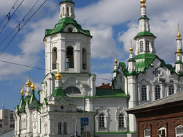 Church of the Saviour, Tyumen