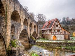Tauber Bridge, Rothenburg ob der Tauber
